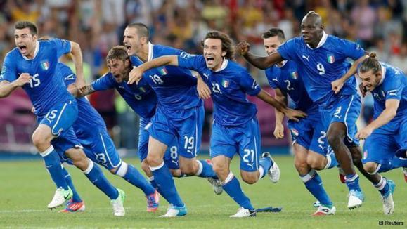 ایتالیا با شکست انگلیس در ضربات پنالتی به مصاف آلمان میرود