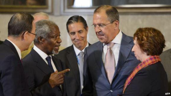 قدرتهای بزرگ در ژنو بر سر دوران انتقالی در سوریه به توافق رسیدند