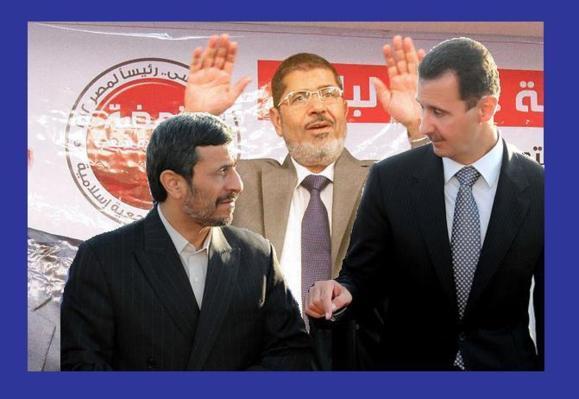 احمدینژاد محمد مرسی و بشار اسد را به تهران دعوت کرد
