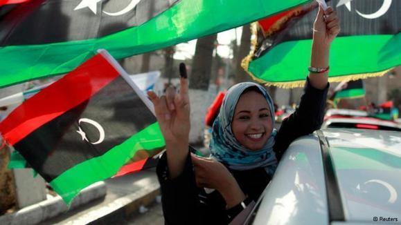 نخستین انتخابات دوران پس از قذافی در لیبی برگزار شد