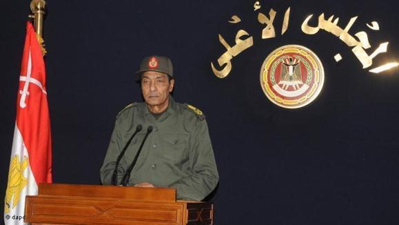 محمد حسین طنطاوی، رهبر شورای عالی نظامی مصر