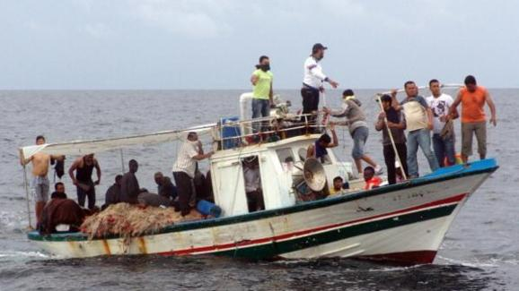 تشنگی در دریای مدیترانه 54 پناهجوی افریقایی را از پای در آورد
