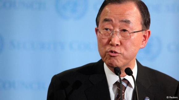 بان کی مون خواستار نقش فعالانه چین در حل بحران سوریه شد