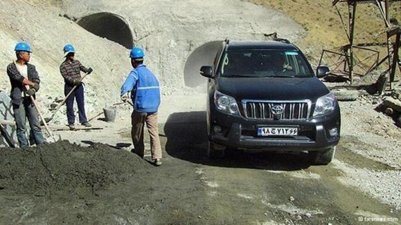 فعالیت ۶۰۰ کارگر چینی در ساخت آزادراه تهران - شمال