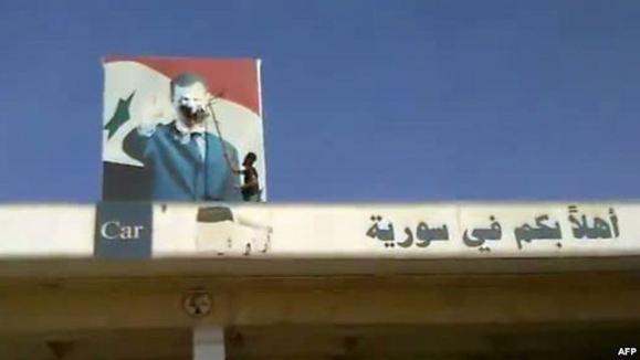 «تصرف گذرگاه های مرزی» سوریه با عراق و ترکیه توسط مخالفان