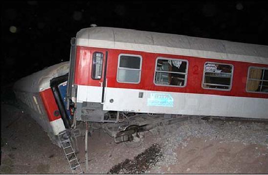 انفجار در قطار باری مسير تهران - اهواز