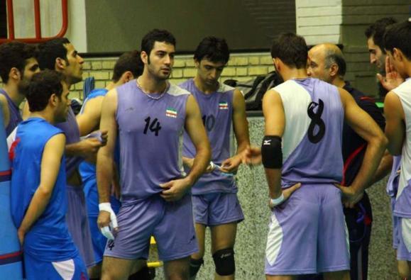 تیم ملی والیبال ایران مقابل آلمان شكست خورد