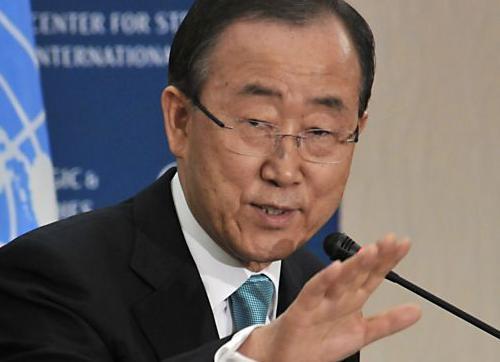 بان کی مون دبیرکل سازمان ملل: کشتار در سوریه را متوقف کنید