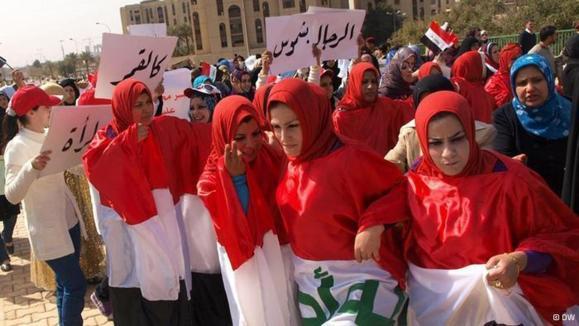 تحقیر نوعروسان عراقی با آزمایش بکارت