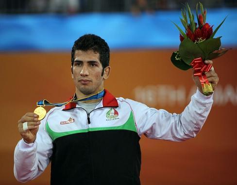 امید نوروزی دومین طلایی ایران در المپیک لندن شد