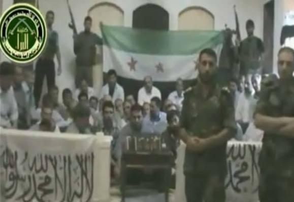 ارتش آزاد سوریه از کشته شدن سه گروگان ایرانی(سپاهی) خبر داد