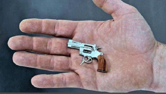 كوچكترين اسلحه جهان ساخته شد