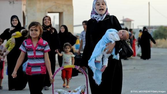 پناهندگان سوریه در مرز ترکیه