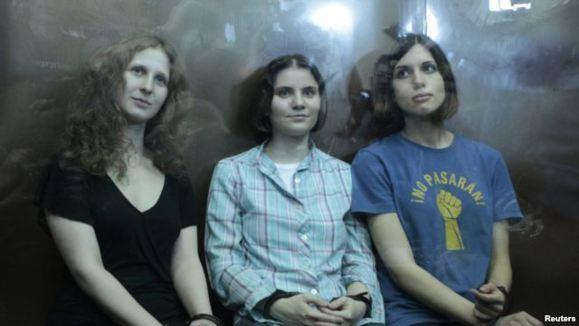 دو سال زندان برای زنهایی که علیه پوتین ترانه خواندند