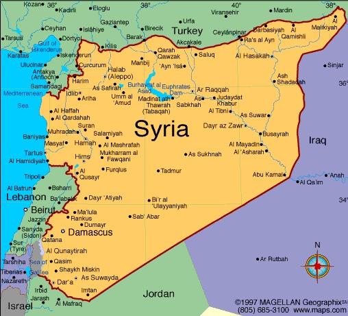 کنترل حرکات نیروهای نظامی بشار اسد  از ساحل تا عمق ٦٠٠ کیلومتری در خاک سوریه