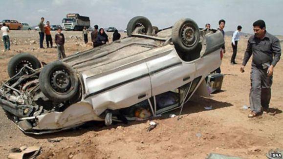 مرگ «۱۰۷ تن» در چهار روز گذشته در جادههای ایران