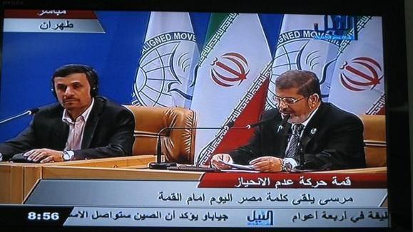 محمد مرسی در نشست تهران: نظام بشار اسد، سرکوبگر است