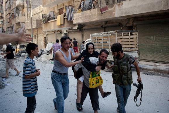 نبرد نیروهای دولتی و مخالفان برای کنترل حلب