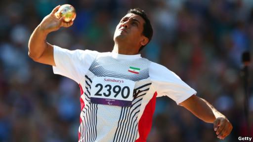 جواد حردانی ورزشکار اهوازی در پرتاب دیسک برنده مدال برنز المپیک لندن شد