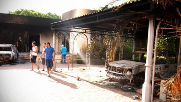 بازداشت چند تن در ارتباط با قتل سفیر آمریکا در لیبی