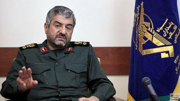 فرمانده سپاه حضور اعضای نيروی قدس در سوريه را تاييد کرد