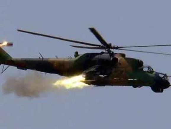 سرنگونی هلیکوپتری دیگر در حومه دمشق توسط ارتش آزاد سوریه