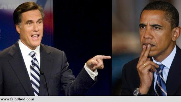 انتقاد شدید میت رامنی به سیاست خارجی باراک اوباما، در ایران و خاورمیانه