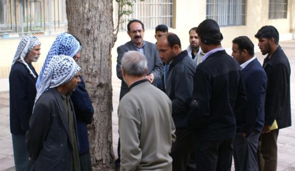 اعتراض کشاورزان منطقه کرخه ( حمیدیه ) و شکایت از مدیرعامل سازمان آب و برق آن منطقه