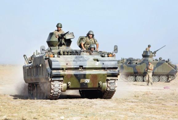 صدور مجوز عملیات نظامی ترکیه در خاک سوریه