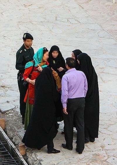 گشت ارشاد در تهران+عکس