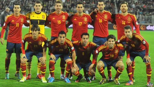 تیم ملی اسپانیا جام جهانی ۲۰۱۲ آفریقای جنوبی را از آن خود کرد