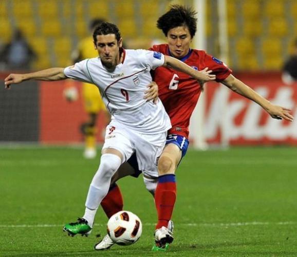 برتری تیم ۱۰ نفره ایران مقابل کره جنوبی