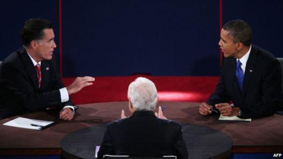 اوباما و رامنی در مناظره آخر: نمیگذاریم ایران به بمب اتم برسد