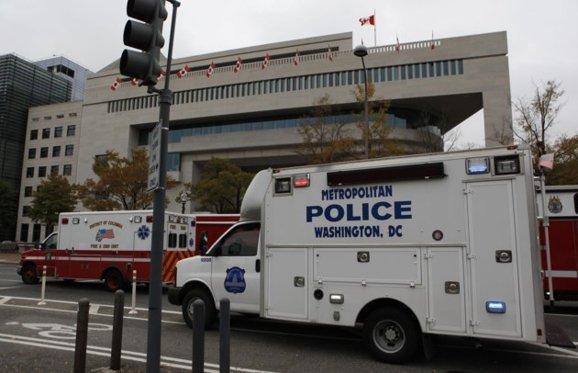 بسته مشکوک در سفارت کانادا در واشنگتن