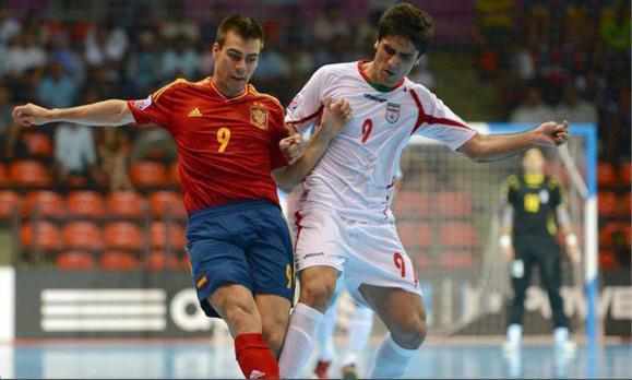 تساوی ايران و اسپانيا در جام جهانی فوتسال