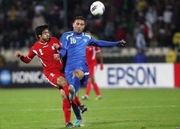 شکست تلخ تیم فوتبال ایران مقابل تیم ازبکستان