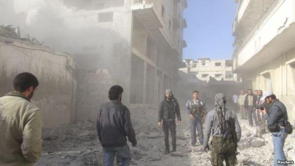 آمار مخالفان حکومت سوریه از قربانیان جنگ: ۳۷ هزار نفر