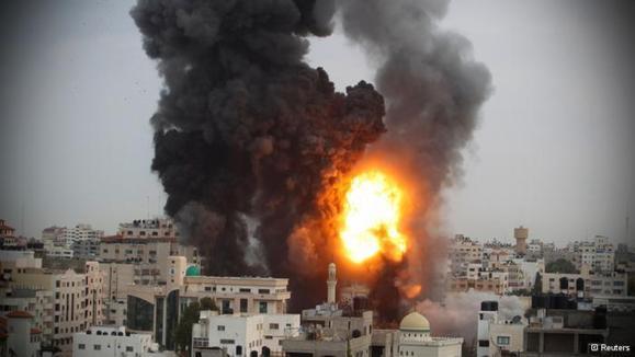 بمباران سنگین غزه در پنجمین روز نبرد اسرائیل و حماس