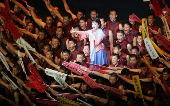 خواننده آوازهای محلی بانوی اول چین شد