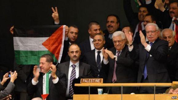 خالد مشعل از ارتقای موقعيت فلسطين در مجمع عمومی سازمان ملل حمايت کرد