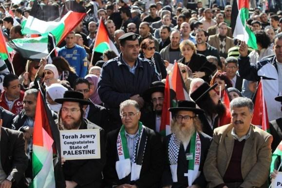 شادی فلسطینیان برای فردای استقلال