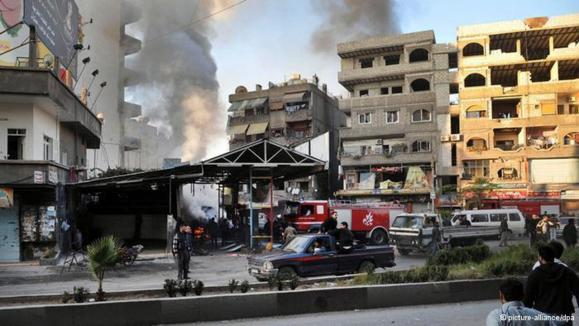 بمباران مناطق تحت کنترل مخالفان در سوریه