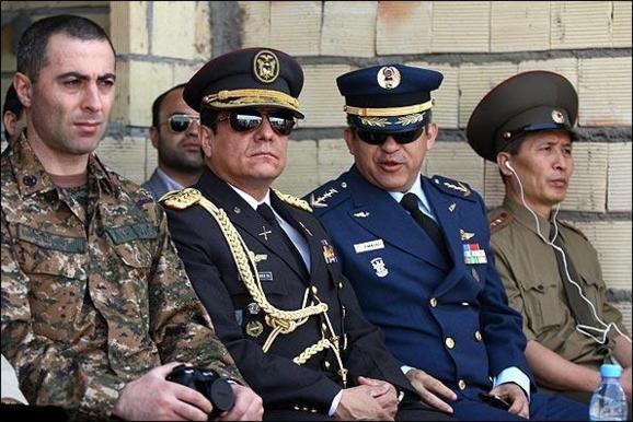 حضور نظامیان ایران در کره شمالی