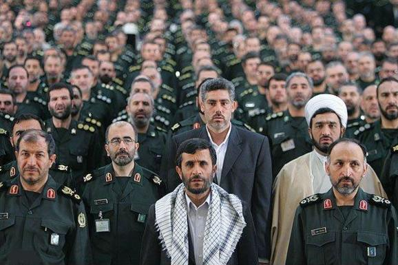 سپاه و احمدینژاد - حمید مافی