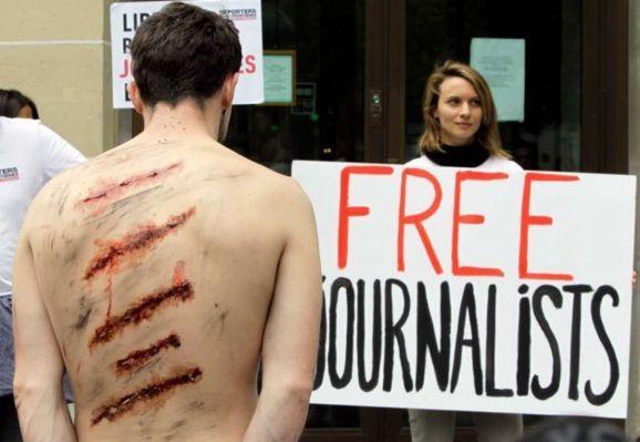 «ایران دومین زندان بزرگ روزنامه نگاران در جهان»
