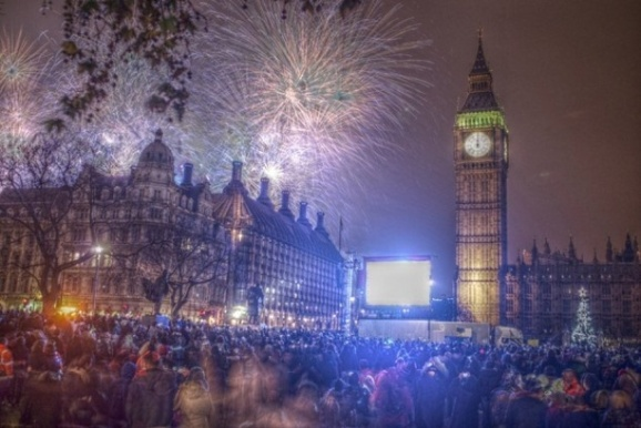 میلیاردها نفر در سراسر جهان سال نو میلادی را جشن گرفتند