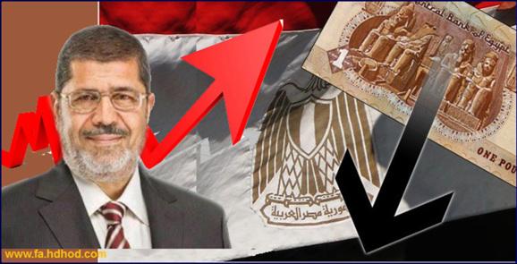 کاهش ذخایر ارزی و سقوط پول ملی مصر