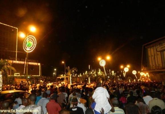 هجوم جمعیت در مراسم آغاز سال میلادی در ساحل عاج دستکم ۶۰ کشته برجای گذاشت