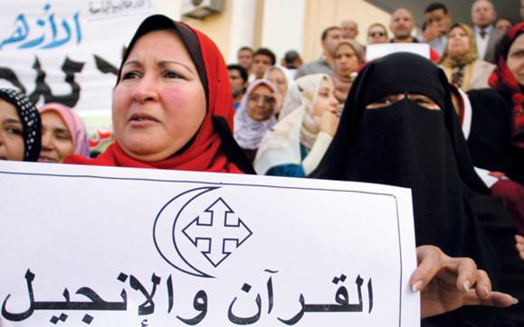 ناکامی يك شبکه تروریستی از انجام بمبگذاری در کلیسای قبطی در مصر