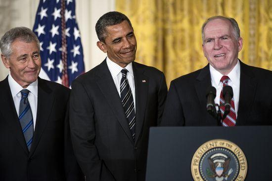 باراک اوباما وزیر دفاع و رئیس سیا را انتخاب کرد